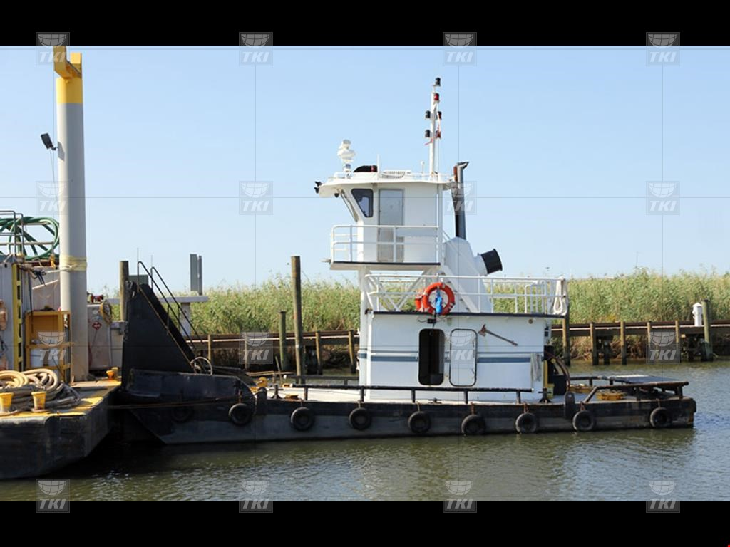 300HP Inland Push Boat For Sale