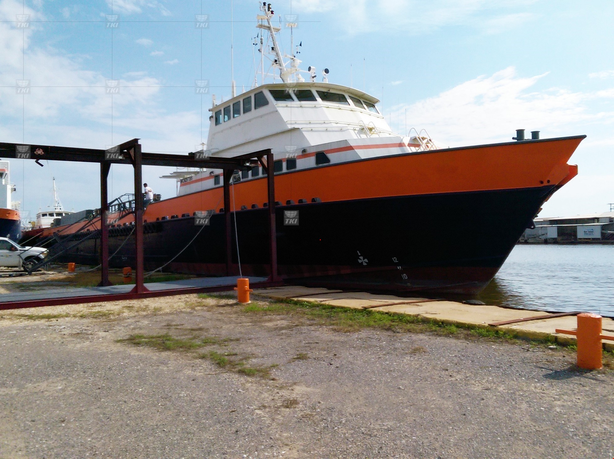 195' 8100 HP Offshore Crew/Fast Supply Vessel (FSV) For Sale