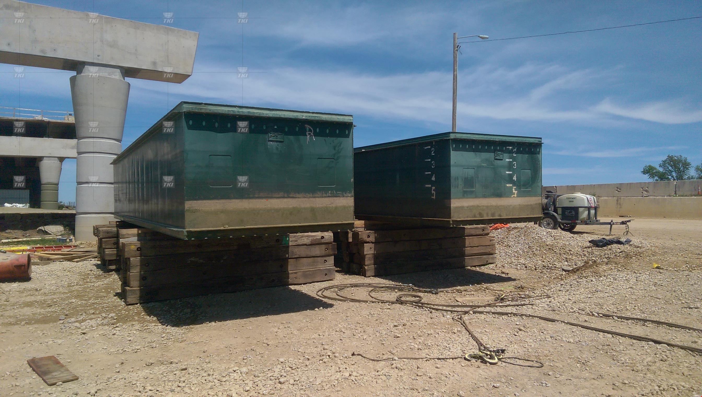 Various Years Shugart Manufacturing 10x20x5 Sectional Barge